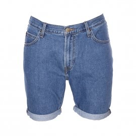 Short en jean Lee en coton bleu denim