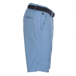Short chino Petrol Industries en coton bleu acier