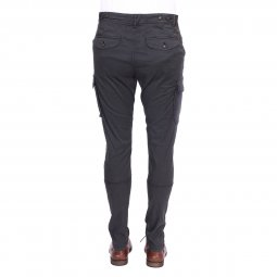 Pantalon cargo Petrol Industries en coton stretch gris anthracite