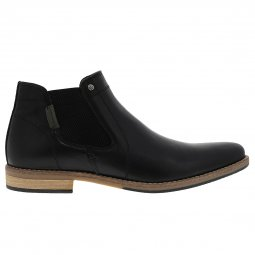 Bottines Bullboxer en cuir noir