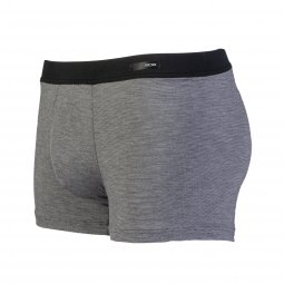 Boxer Comfort Briefs HOM Gallant gris anthracite chiné