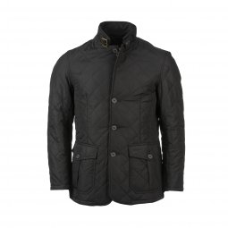 Veste Barbour Quitted Lutz matelassé noir