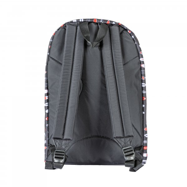 Sac à dos Eastpak Out Of Office 27L noir à motifs surfs