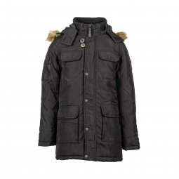 Manteau à capuche Petrol industries Junior noir