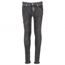 Jean stretch slim Petrol Industries Junior Nolan noir légèrement délavé