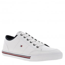 Baskets Tommy Hilfiger Corporate en toile blanche