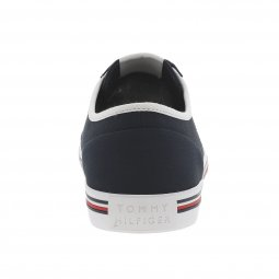 Baskets Tommy Hilfiger Corporate en toile bleu marine