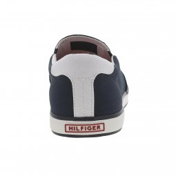 Baskets tommy Hilfiger Slip On en toile bleu marine