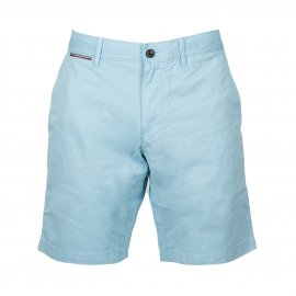 Short chino Tommy Hilfiger Brooklyn en coton bleu ciel