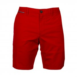 Short chino Tommy Hilfiger Brooklyn en coton rouge