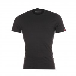 Lot de 2 tee-shirts Levis Slim Fit Crewneck en coton noir