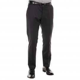 Pantalon de costume cintré Selected anthracite
