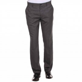 Pantalon de costume cintré GRIS Selected