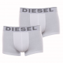 Lot de 2 boxers Diesel en coton stretch blanc