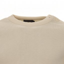 Pull Armor Lux Fouesnant 100% laine vierge crème
