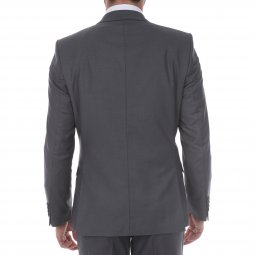 Veste de costume Selected Logan gris foncé