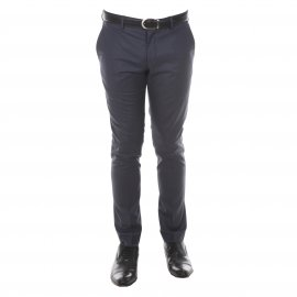 Pantalon de costume cintré Selected bleu indigo