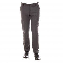 Pantalon de costume cintré Selected gris