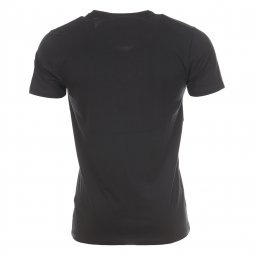 Tee-shirt col V Selected Noir
