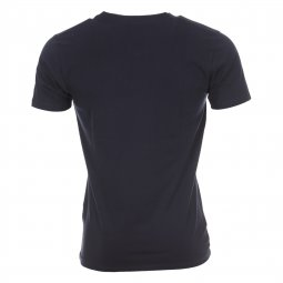 Tee-shirt col V Selected Bleu marine