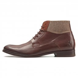 Criol Bottines Cuir Vintage Marron