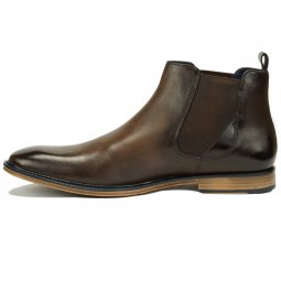 Bottines en Cuir Lincoln