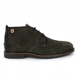 Derbies en daim LIME