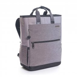 SAC A DOS TOTE 15'' FINITIONS CUIR