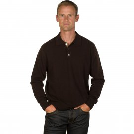 Pull Pure Cachemire Homme Col Polo