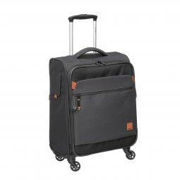 VALISE SOUPLE CABINE 4 ROUES POLYESTER