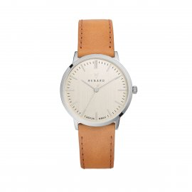 Montre Elite Cuir - Champagne Or Mandarine