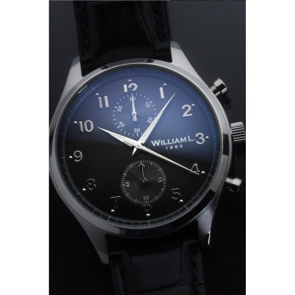 Montre Cuir Vintage Style Small Chronograph 20