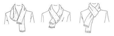 Comment faire un noeud d'écharpe