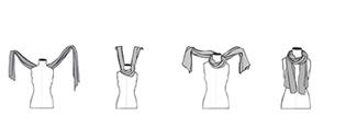 Comment faire un noeud pour foulard