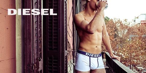 Collection homme Diesel underwear