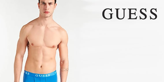 Collection homme Guess underwear