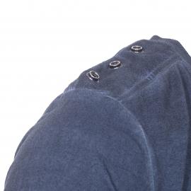 Tee-shirt col rond Deepend en coton bleu marine délavé