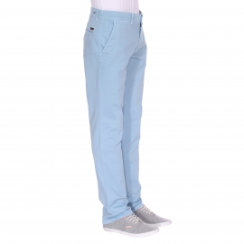 Pantalon chino Phil Gentleman Farmer bleu ciel