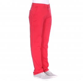 Pantalon chino Phil Gentleman Farmer rouge