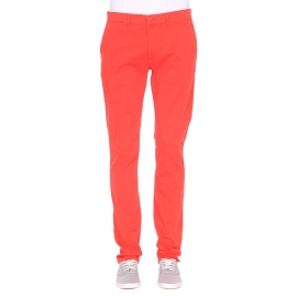Pantalon chino Phil Gentleman Farmer orange