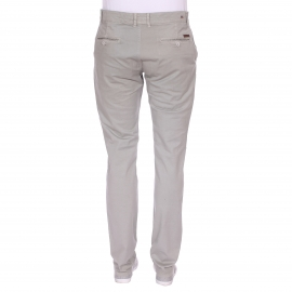 Pantalon chino Phil Gentleman Farmer gris clair