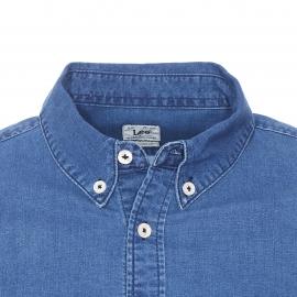 Chemise ajustée Lee en jean bleu medium
