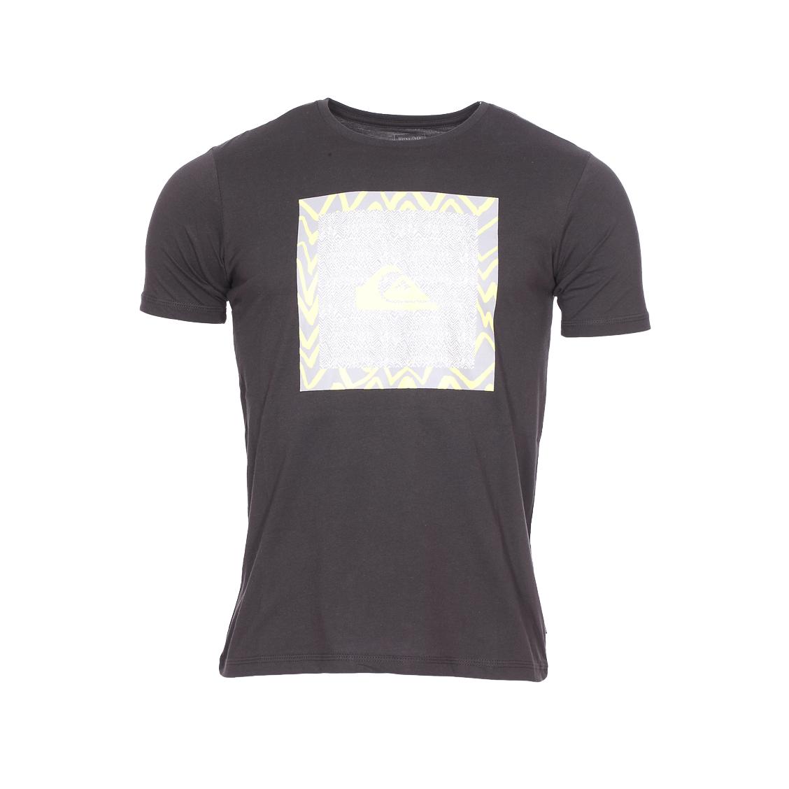Tee-shirt col rond  classic nano spano en jersey de coton noir