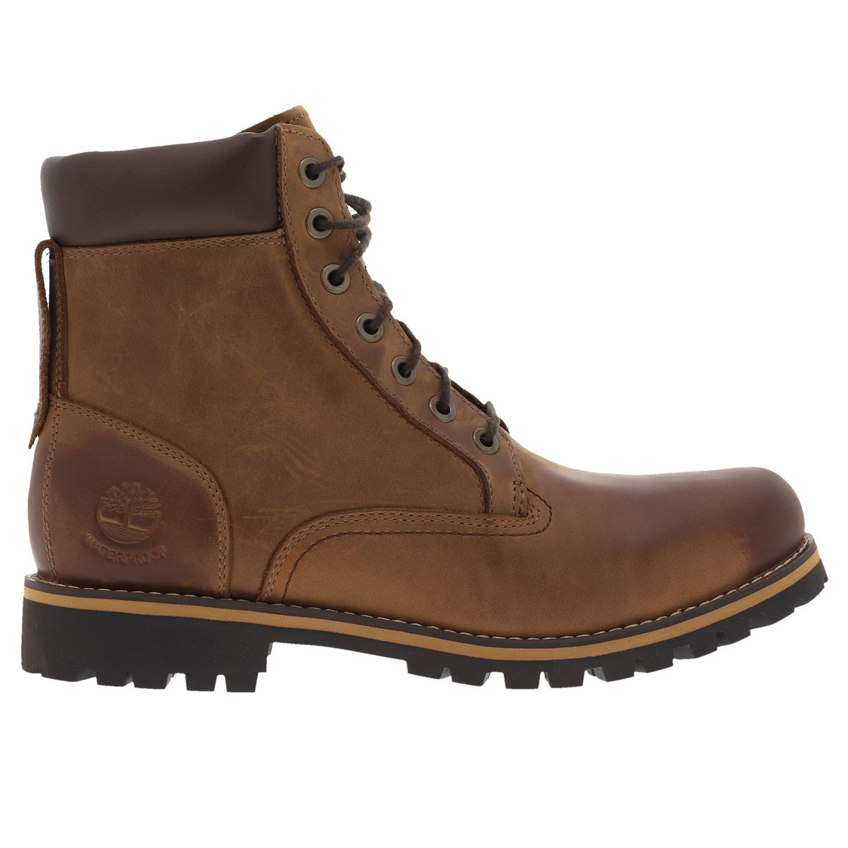 Boots hautes  rugged marron