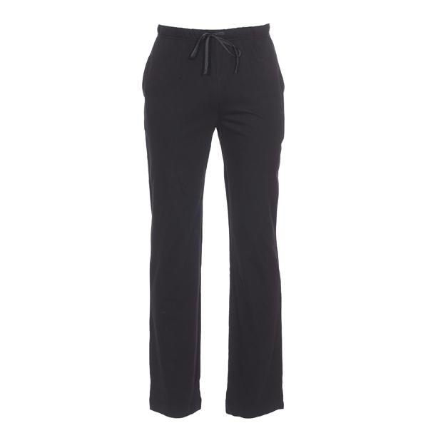 Pantalon de pyjama  en jersey de coton noir