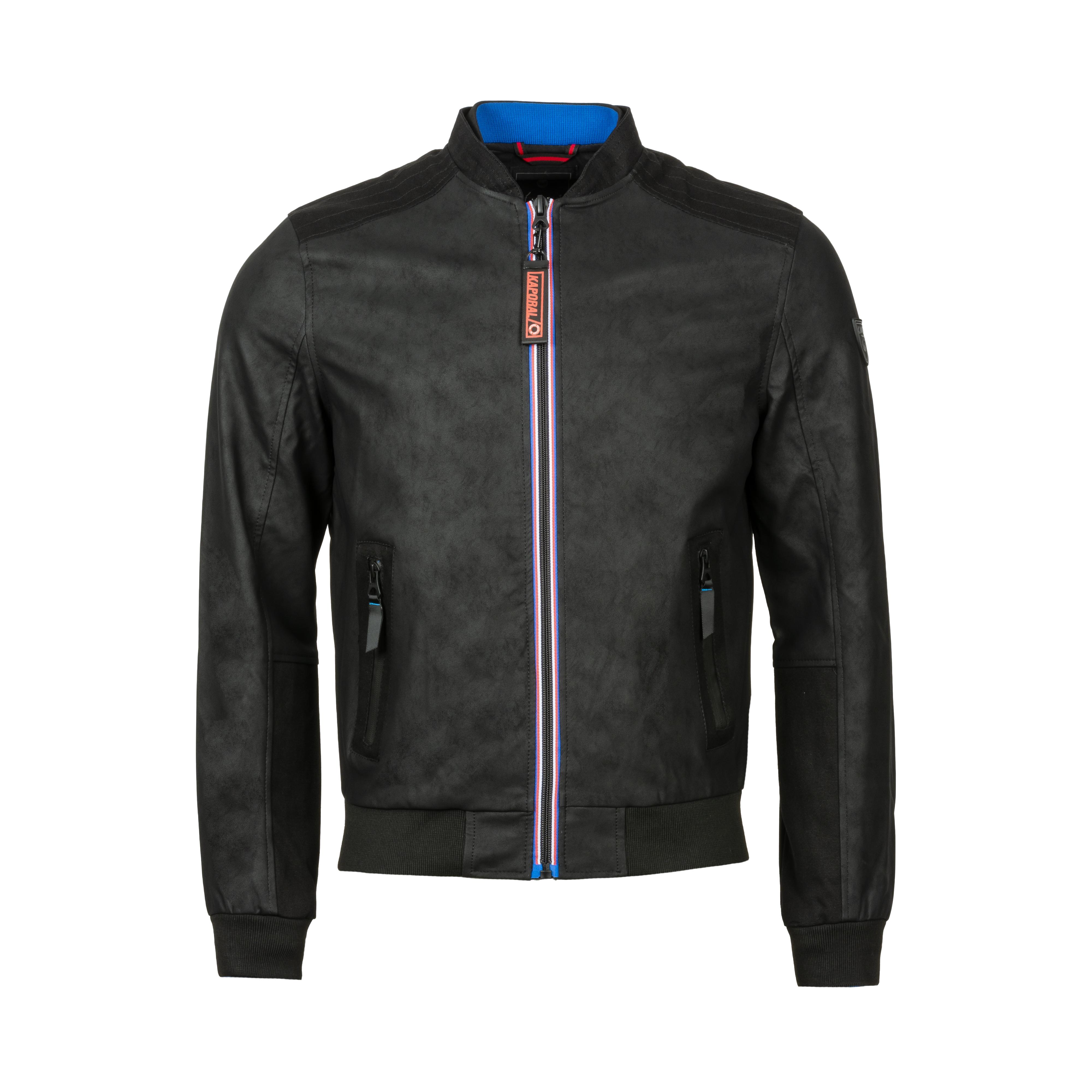 Veste zippée  cool noire