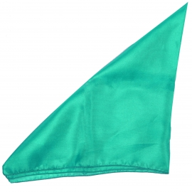 Pochette en soie vert d'eau pour costume