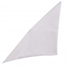 Pochette en soie Gris perle pour costume