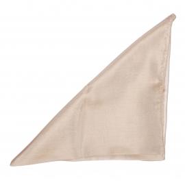 Pochette en soie Beige pour costume