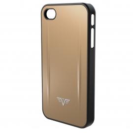 Coque Iphone 4/4S Shell Tru Virtu Taupe